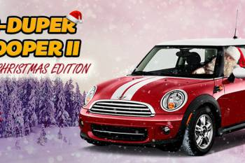 Super Duper Mini Cooper Christmas Edition