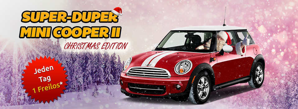 Super Mini Cooper Turnier; Super Gewinner! - DrГјckGlГјck Blog
